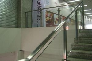 Tempered Glass Fence/Stair Railing/Domestic Storey Stair pictures & photos