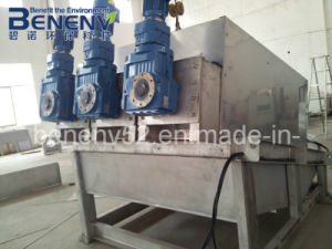 Sludge Dewatering Filter Press Machine for Industrial Wastewater