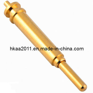 Custom Brass Gold Plated Pogo Pin Connector, Test Pogo Pin, Spring Loaded Pogo Pin pictures & photos