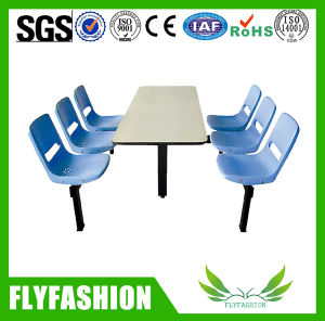 Restaurant Chair 4 Seats Dining Table and Chairs pictures & photos