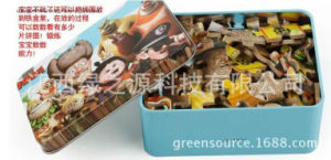 Greensource, Heat Transfer Printing for Wooden of Puzzle pictures & photos