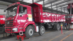 Hot 8*4 Dump Truck with Hydraulic Wingspan pictures & photos