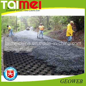 Hot Sale HDPE/PE Black Textured Geocell pictures & photos
