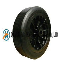 12 Inch Flat Free Rubber Wheel Barrow Wheels pictures & photos