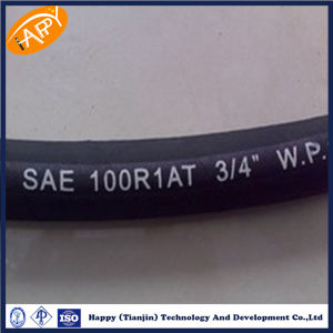 En853 1sn 2sn One Wire and Two Wire Braid Hose pictures & photos