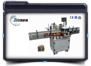 Functional Round Bottle Labeling Machine Zhtb01 pictures & photos