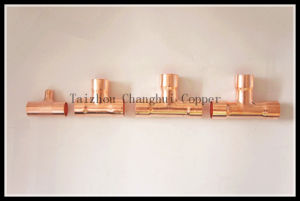 Copper Tee for Air Conditioner