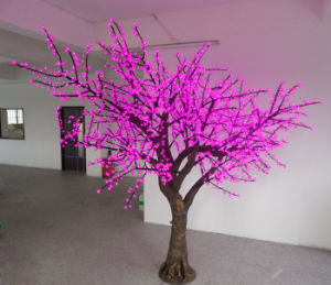 Yaye CE/RoHS Pink LED Simulation Blossom Tree/Outdoor LED Simulation Tree with Warranty 2 Years pictures & photos