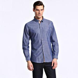 2016 Dress Shirt for Men New Fashion/Latest Design High Quality Mens Dress Formal Shirts Bulk pictures & photos