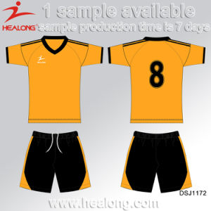Healong Designer Dye Sublimation Soccer Jersey with High Quality pictures & photos