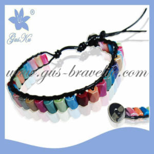 2015 Htb-052 Fashion Magnetic Hematite Weave Bracelet