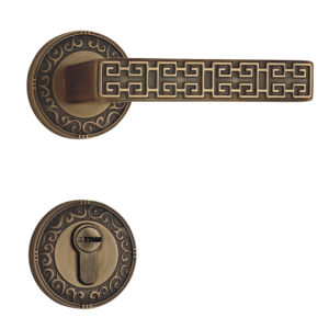 Classic Style Solid Brass Hotel Cylinder Door Lock pictures & photos