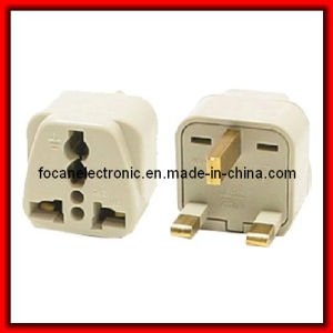 Grounded Universal Plug Adapter Type G for UK pictures & photos