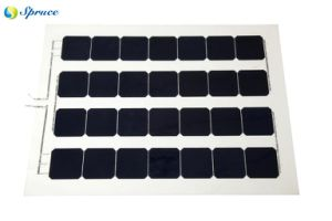 Semi-Flexible Monocrystalline Solar Panel (126W)