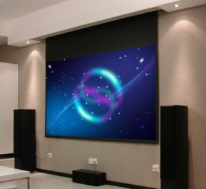 Motorized Screen Motorized Projection Screen pictures & photos