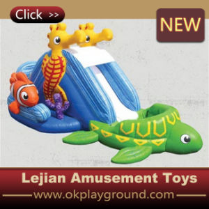 CE Cartoon Style Children Inflatable Slide (C1220-4) pictures & photos