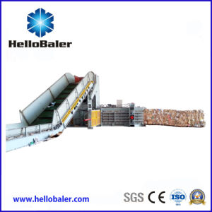 Horizontal Type Automatic Baler for Cardboard pictures & photos