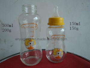 Milk Water Glass Bottles for Baby Feeding Food Grade pictures & photos