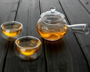 Glass Tea Pot with Filter Boiled Tea Pot Tea Set Tea Warmer pictures & photos