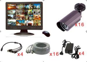16CH CCTV Surveillance System (ELP-DVR1916C-D7240F)