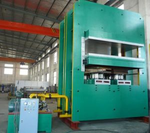 Used Tyre Recycling Rubber Tile Manufacturing Machine pictures & photos