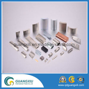High Performance 10000 Gauss Permanent Neodymium Radial Ring NdFeB Magnet pictures & photos
