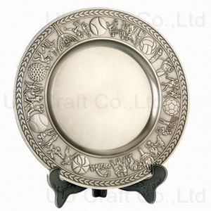Zinc Alloy Casted Decoration Plate (7-8068-21)