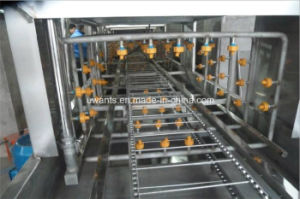 Tunnel Type Basket Washing Machine for Industry pictures & photos