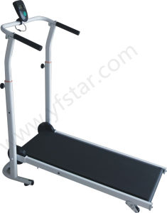 Foldable Fitness Cheap Sale Walking Manual Treadmill, T-100 pictures & photos