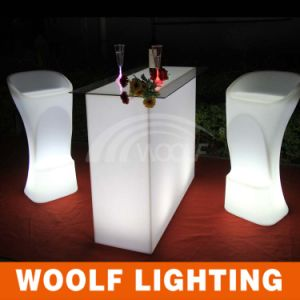 LED Illuminated Bar Chair for Night Club Party pictures & photos