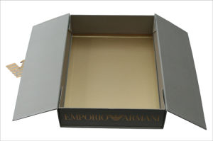 Luxury Foldable Packaging Paper Gift Wine Box pictures & photos