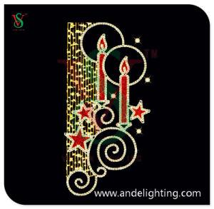 Christmas 2D Motif Decoration Light Candle Light pictures & photos