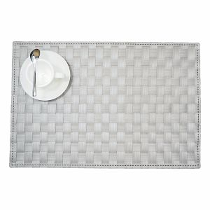 Foamed Matte PP Woven Placemat for Tabletop pictures & photos