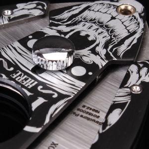 Lubinski Cigar Cut Scarface Personalized Sharp Cigar Cutter (ES-EB-100) pictures & photos