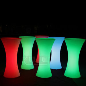 Originality Color Changeing LED Bar Tables Cocktail Tables and Stools pictures & photos