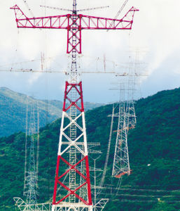 Customized High-End Transmission Line Tower pictures & photos
