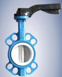 ANSI Wafer Butterfly Valve 150lb pictures & photos