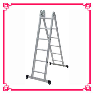 Aluminum Multi-Purpose Folding Ladder/Stairway Extension Ladder pictures & photos