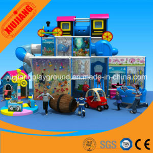 Kids Plastic Indoor Playground Equipment for Sale pictures & photos