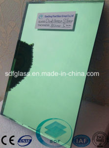 Dark Green Float Glass Silver Mirror pictures & photos