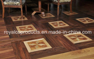 Parquet Hard Wood Flooring Tile with Art Pattern