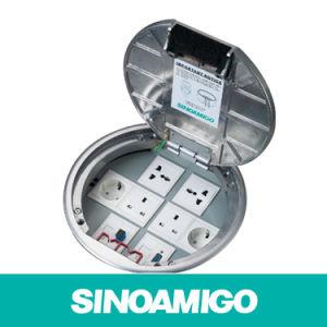 Smart Wiring System Connectingup Round Ground Box Floor Socket pictures & photos