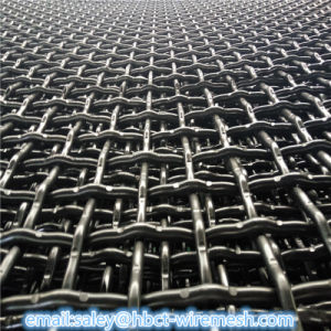 Carbon Steel Wir Mining Crimped Screen Wire Mesh pictures & photos