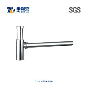 Round Brass Siphon with Brass/Ss304 Pipe (T1063) pictures & photos