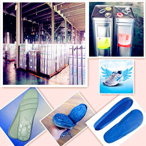 PU Resin for Medium Shoe Sole of Men′s Casual Shoes Zg-P-6345/Zg-I-9690 pictures & photos