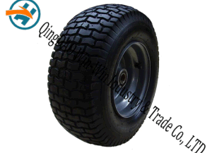 16*6.50-8 Non-Pneumatic Polyurethane Foam Wheel with Spoke Rim pictures & photos