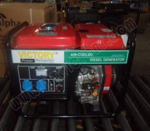 1kw~5kw Open Type Diesel Portable Generator Vdg2200cl pictures & photos