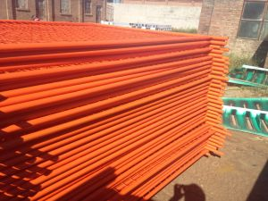 China Manufacturer Hot Dipped Galvanized Australia Temporary Fence pictures & photos
