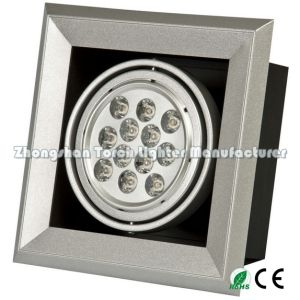 12*1W*1 Recessed LED Light LED Ceiling Light Grille Light Tl-Ga111-1201