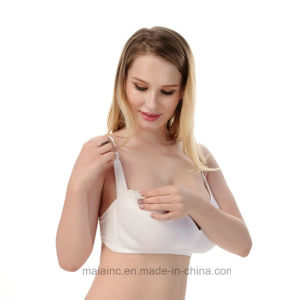 Wire Free Ladies Comfortable Maternity Bra pictures & photos